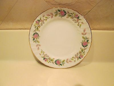 Creative Regency Rose Dessert Plates - Lot of 4