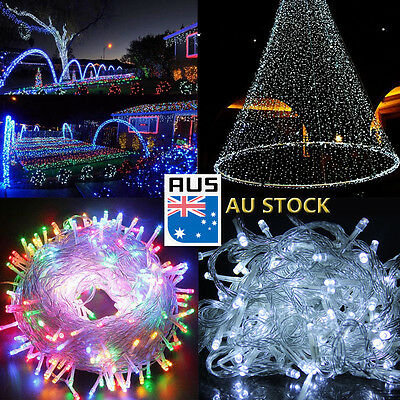 250/500 Led Fairy String Lights Wedding Indoor Outdoor Christmas Garden Party AU