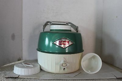 Coleman Canada Green Steel Belted Diamond Logo 1 Gallon Cooler Jug With Cup