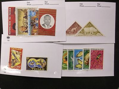 Africa Lot of 4 Stamp Packs