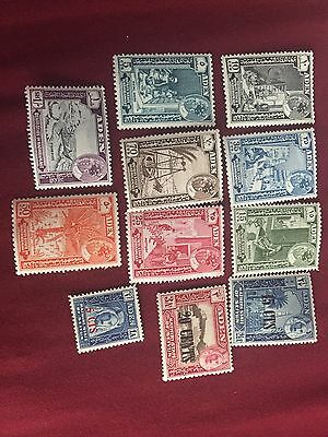 Aden Quaiti And Kathiri State Stamps