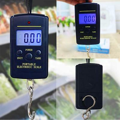 Electronic Hanging Fishing Luggage Pocket Portable Digital Weight Scale New CA