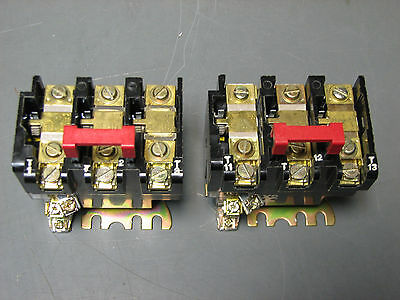 (Lot Of 2) Square D 9065-Sd05 Thermal Overload Relay B8.20 B1.45 B2.10 B14 B22