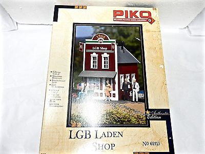 Piko #62115 G scale LGB Model Train Shop building kit - used - with original bx
