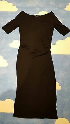 Asos maternity size 10 black dress