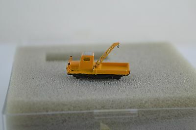 Marklin Railex Brass Yellow Crane Car Z Scale