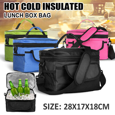 Waterproof Thermal Cooler Insulated Portable Tote Picnic Lunch Bag Storage Box