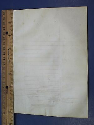 Prepared but blank Vellum Leaf for  Medieval Book of Hours,ca.1470