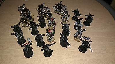 Bundle of 18 Chaos Space Marines + 3 Bikes Warhammer 40k Games Workshop