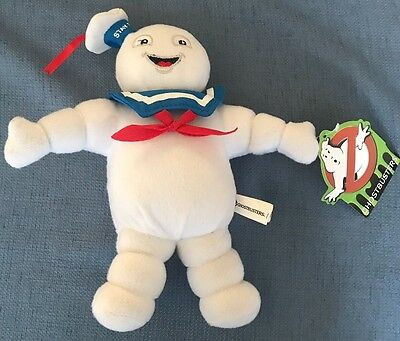 "NWT Ghostbusters Stay Puft Marshmallow Man 10"" Plush Stuffed Animal Toy Factory"