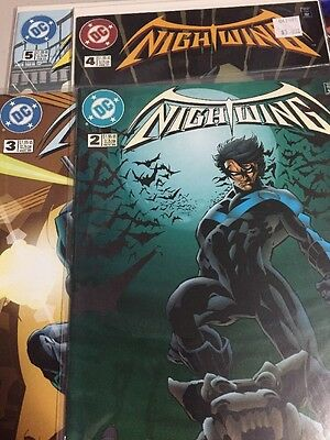 Nightwing Issues 2-5 NM Never Opened