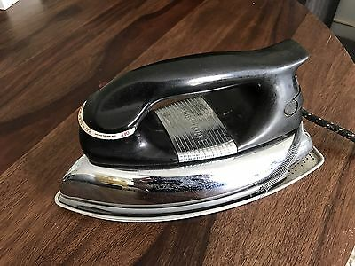 Vintage Retro Appliance Hotpoint Steam Iron In Good Working Condition