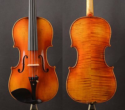 Special Offer! Stradivari Copy! A T19+ Violin Open rich tone,BEST performance