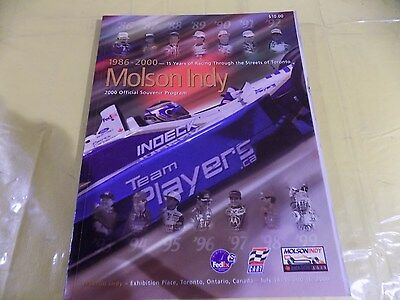 Molson Indy Official Program 2000, Toronto