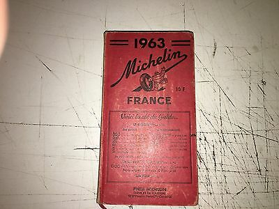 1 Guide Michelin Rouge 1963