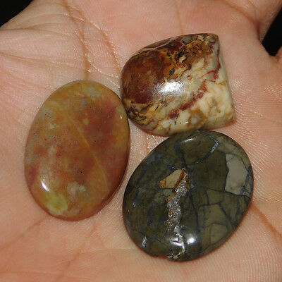 74.00 Cts Magnificent 100% Natural Wholesale Mix Lot  Loose Cabochon Gemstone