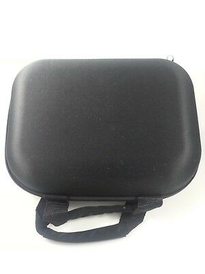 "10 × 7"" Black Padded Pouch Carry Case Protective Glass Pipe Storage Zipper Hand"