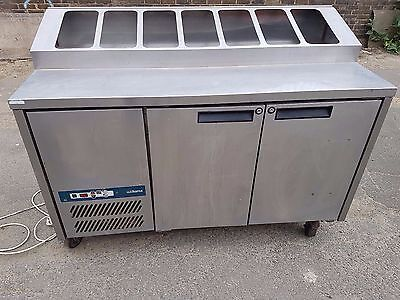 Williams 2 door prep / salad bench fridge chiller commercial