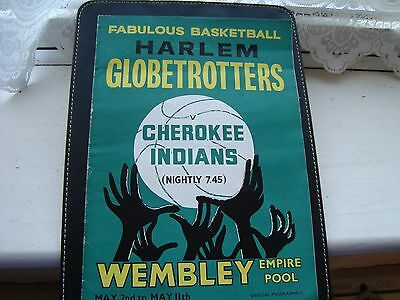 HARLEM GLOBETROTTERS   1961  PROGRAMME all 12 pages are sound