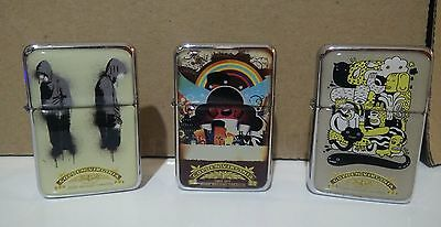 GOLDEN VIRGINIA lighters LOT great condition PROMO
