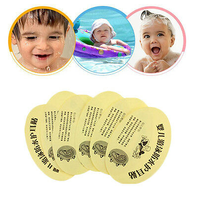 100Pcs Waterproof Baby Ear Stickers Bathing Swimming Infant Safety Health