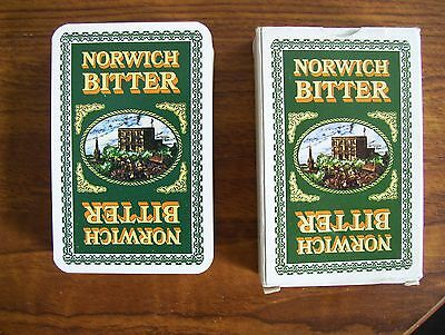 Norwich Bitter Deck Of Playing Cards.(Unused=Mint)
