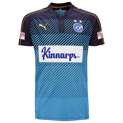 Puma Mens Football Grasshopper Club Zürich FC Third 3rd Jersey Shirt 2016 2017