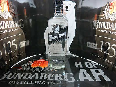 Bundaberg Rum Five White Numbered Bottle Mint Condition