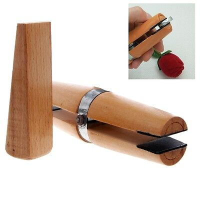 Professional Wood Ring Clamp Jewelers Holder Jewelry Making Hand Tool Benchwork