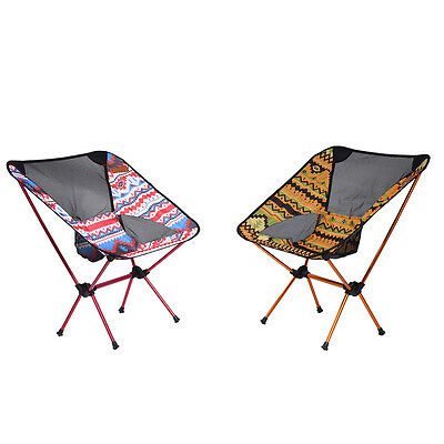 Portable Folding Camping Chair Outdoor Fishing Seat Picnic Stool Beach BD