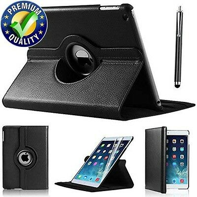 Leather 360 Degree Rotating Stand Case Cover For APPLE iPad Air 2 {B