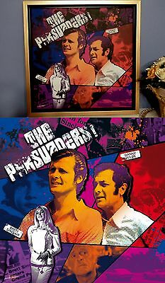 Amicalement vôtre, The Persuaders, Toile + cadre.