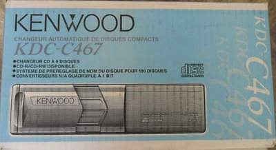 Kenwood Kdc-C467Cd-Changer To 6Cd For Head Unit Kenwood Player Cd-R/rw