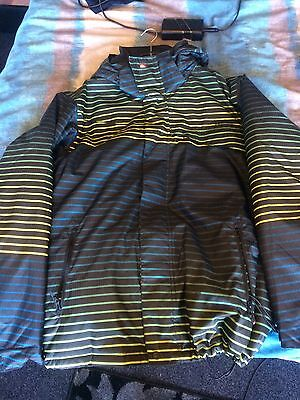 Quiksilver Utility Collection Ski Jacket Size Large