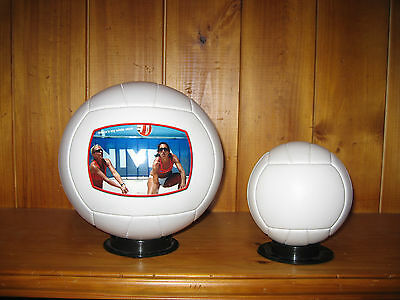THANKS COACH Large Size Volleyball Gift - Your Photo & Personalised Text