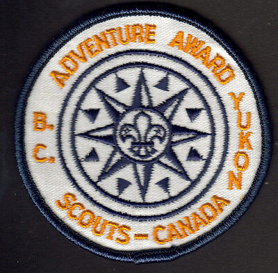 "Boy Scouts Canada B.c. Yukon Adventure Award British Columbia 3"" Round"