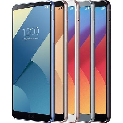 LG G6 H870 ANDROID SMARTPHONE HANDY OHNE VERTRAG Quad-HD 32GB LTE/4G IP68 WiFi