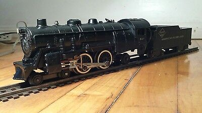 Vintage American Flyer | A.C. Gilbert Steam Locomotive and Tender #307