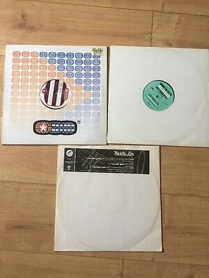 "Job Lot Of Old Skool Jazzdance/Acid And Or Future Jazz 3x12"" Touch & Go Etc"