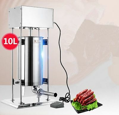 10L Automatic sausage filling machine Stainless steel sausage filler maker