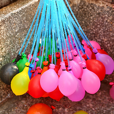 111-555Pcs Water Balloons Bombs Self Tying Outdoor Birthday Party Halloween Fun