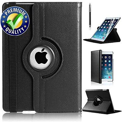 Leather 360 Rotating Smart Stand Case Cover For APPLE iPad 2 3 4 {b12