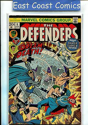 Defenders #6 - Very Fine - Marvel