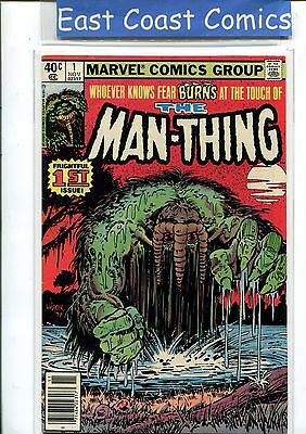 Man-Thing Vol: 2 #1 - Very Fine - Marvel