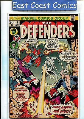 Defenders #8 - Htf - Very Fine - Marvel