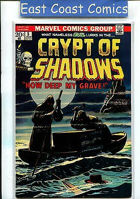 Crypt Of Shadows #8 - Near Mint Minus -  Silver/bronze Age Marvel