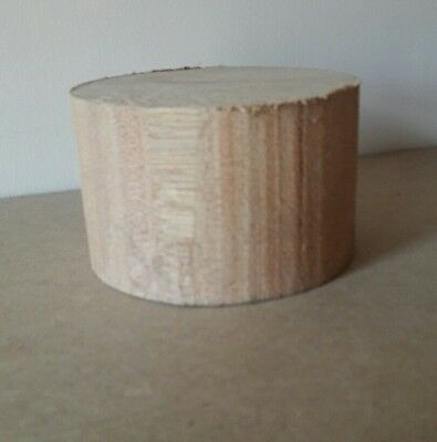 MERANTI wood turning blank 110mm diameter x 70mm