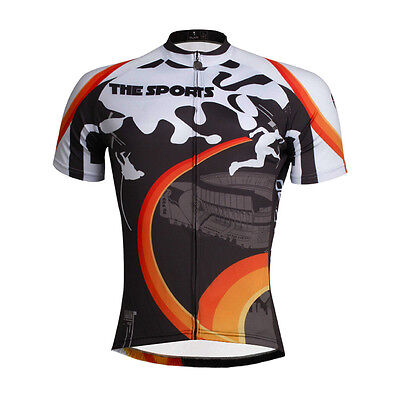 Cycling Jersey For Men Apparel Sports Magnetic Field Outdoor Short Sleeve Shirt