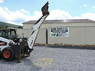 Bobcat 709 Skid Steer Loader Backhoe Attachment S185 763 S175 S205 Excavator !!!