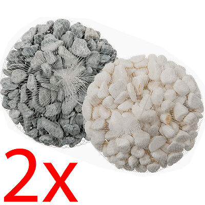 2Kg Decorative Pebble Stones Beads Vase Nuggets Wedding Decoration Garden New